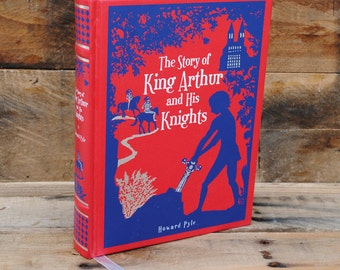 Hollow Book Safe - King Arthur and His Knights - Leather Bound (FS30S)
