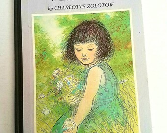 "Signed Garth Williams, illustrator, ""Do You Know What I'll Do?"" by Charlotte Zolotow. 1958. Mid-century children's classics. No jacket"