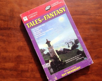 Tales of Fantasy 2-cassette set by Ray Bradbury. Read by the author! Science fiction & fantasy. Sci fi. Illustrated Man
