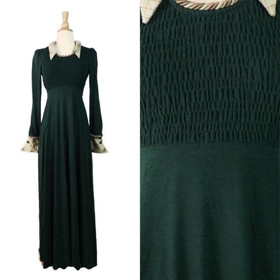 Vintage 70s Dress / Jody T Cottagecore Renaissance