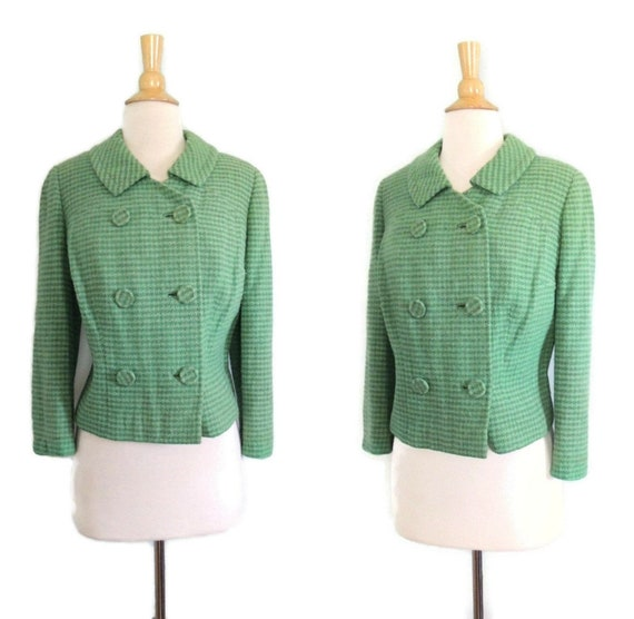 Vintage 50s Blazer / British Tweeds Double Breaste