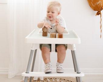 Dishwasher Safe Adjustable Footrest for Ikea Antilop High Chair