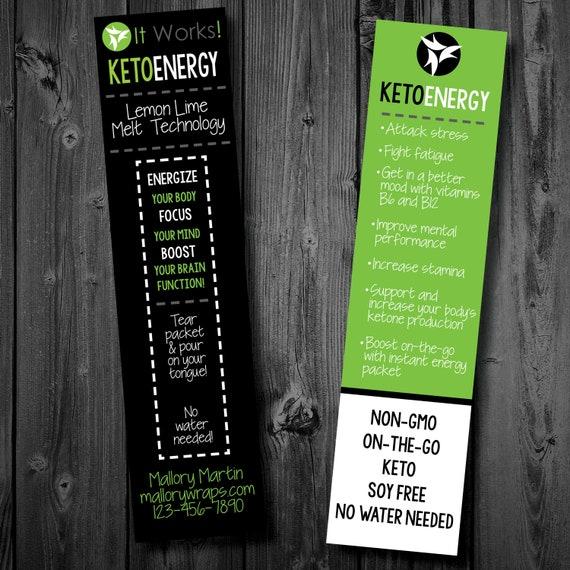 Printable It Works Global Independent Distributor Keto Energy