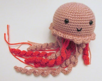 Amigurumi Jellyfish PDF Crochet Pattern INSTANT DOWNLOAD
