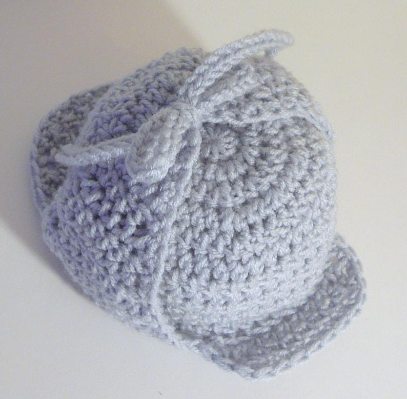 Deerstalker Sherlock Holmes Hat PDF Crochet Pattern  3a4ed33913b3