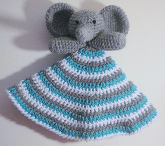 Elephant Lovey PDF Crochet Pattern INSTANT DOWNLOAD Etsy Mesmerizing Crochet Elephant Lovey Pattern