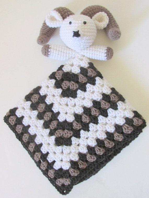 Big Horn Sheep Lovey PDF Crochet Pattern INSTANT DOWNLOAD   Etsy