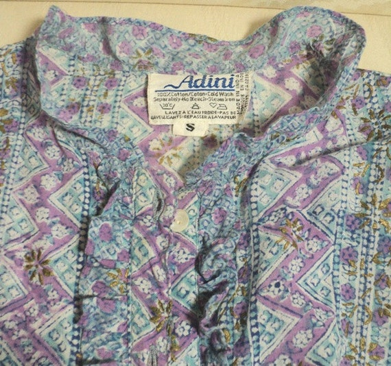 BLUE Harem Blouse, Ultimate Fantasy Promo, Adini,