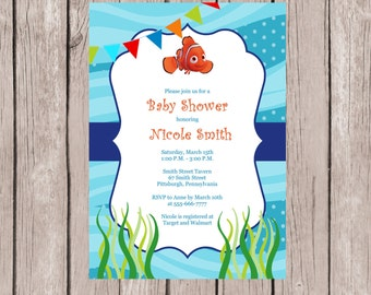 Nemo Baby Shower Etsy
