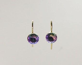 Vitrail Light Swarovski earrings