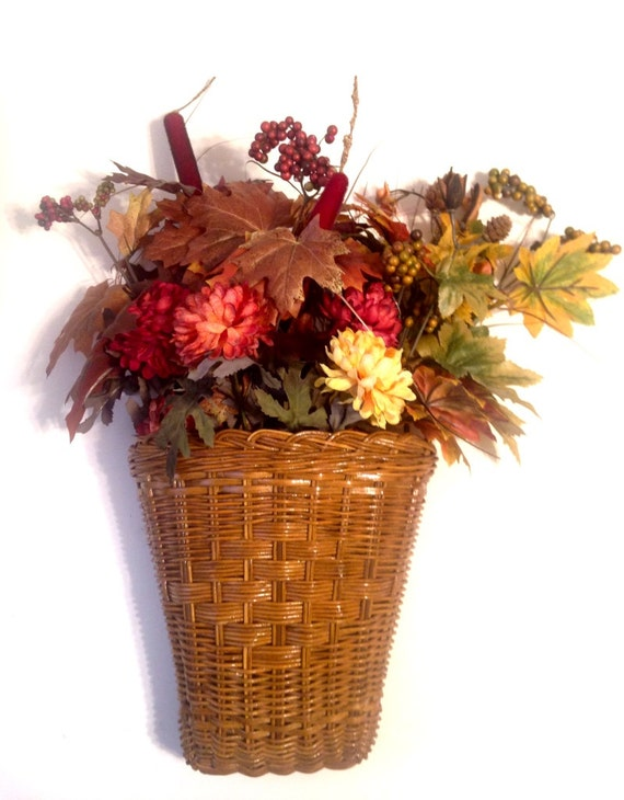 ideas for flower vase fillers with natural green flower.htm fall floral basket thanksgiving wicker hanging basket flower etsy  fall floral basket thanksgiving wicker