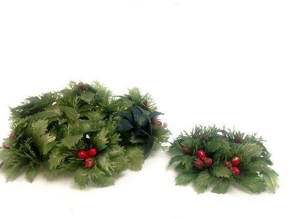 decorative table centerpieces.htm sweet christmas wreaths table centerpiece candle holders etsy  table centerpiece candle holders