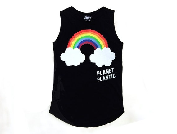 shirt Black Festival clothing Black man shirt Women shirt Punk shirt Rainbow Punk tshirt Burning t rock shirt vvOn65Hr