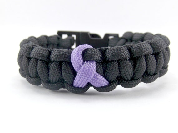 Alzheimer/'s//Dementia Awareness Paracord 550 Bracelet