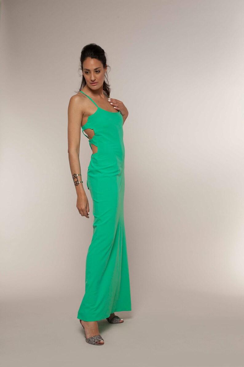 821205f05e6d2 Mint Maxi Dress Open Back Dress Mint Dress Green Maxi   Etsy