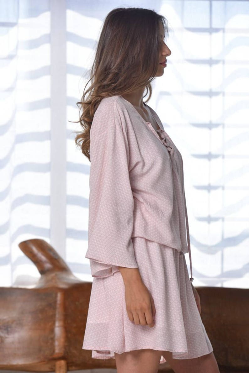 e0fa4dd5902 Pink Dress Womens Gift Bridesmaid Dresses Mini Dress Women