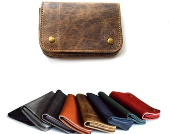 Leather Tobacco Pouch Wallet
