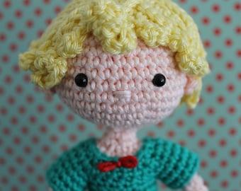 Prince- amigurumi doll