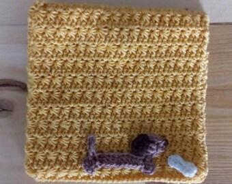 Crochet case - pencilcase - mirrorcase
