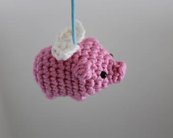 Flying pig pattern