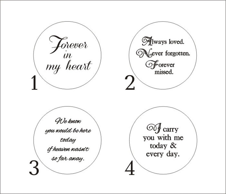 2 Sided Bouquet Photo Charm  DIY or CUSTOM choose at checkout  Silver  Wedding Memorial  Boutonnière Necklace  Bridal Keepsake  Pet