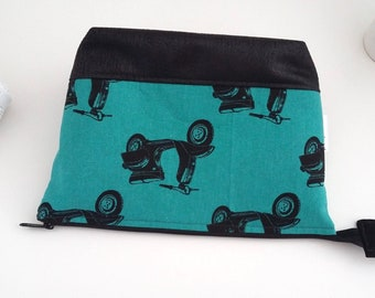Retro Scooters Large Toiletry Bag