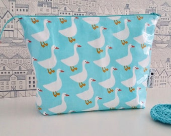 Limited Edition - Ducks wipe clean wash bag