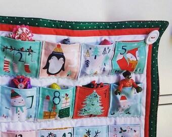 RARE Festive Friends Red and Green Advent Calendar
