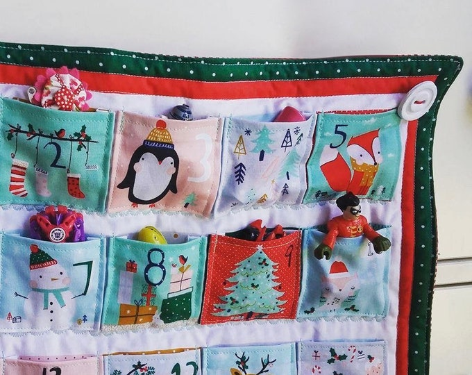 RARE Festive Friends Red and Green Advent Calendar