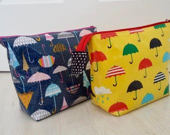Umbrellas Wipe Clean Wash Bag