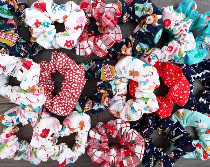 Festive Scrunchies