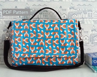 The Carina Satchel Bag - PDF Sewing Pattern