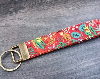 Jungle Menagerie key fob