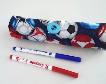 Footballs Pen Roll