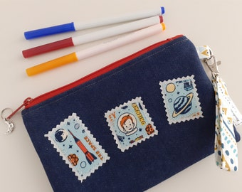 To the Moon - Through the Letterbox pouch
