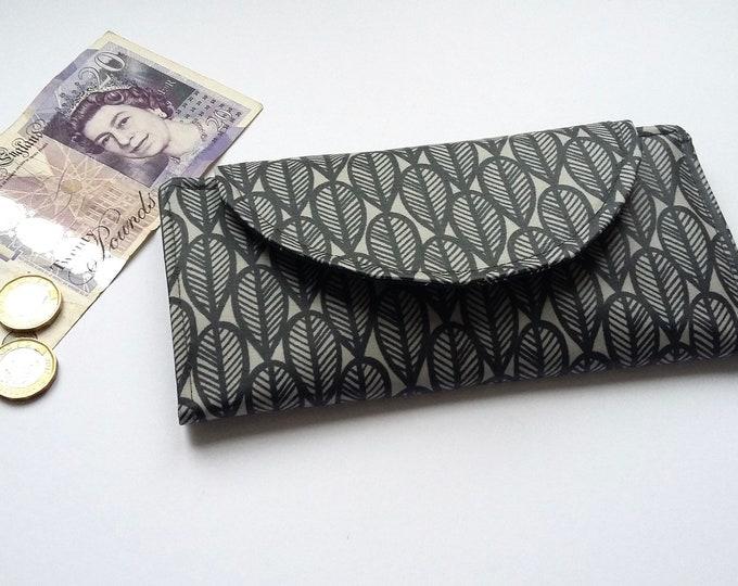 Falling Leaves wipe clean slimline wallet
