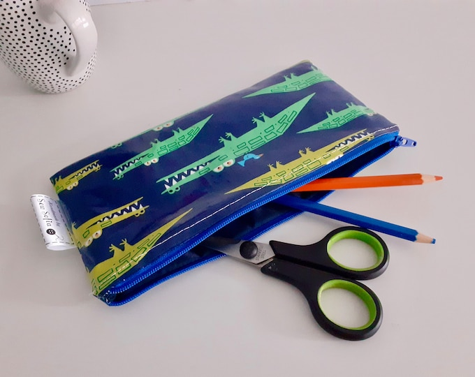 Crocodiles pencil case