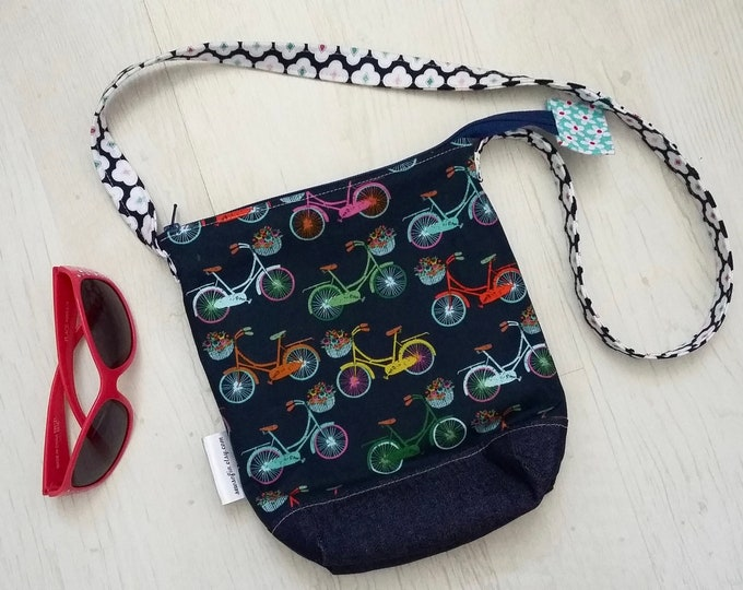 Navy Blue Bicycle bag