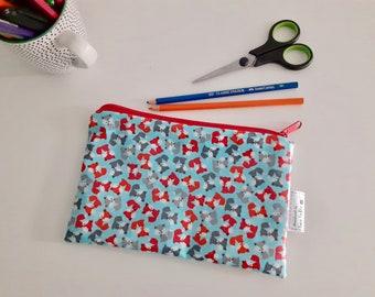 Foxes pencil case