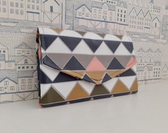 Prisms Flip Clutch Wallet