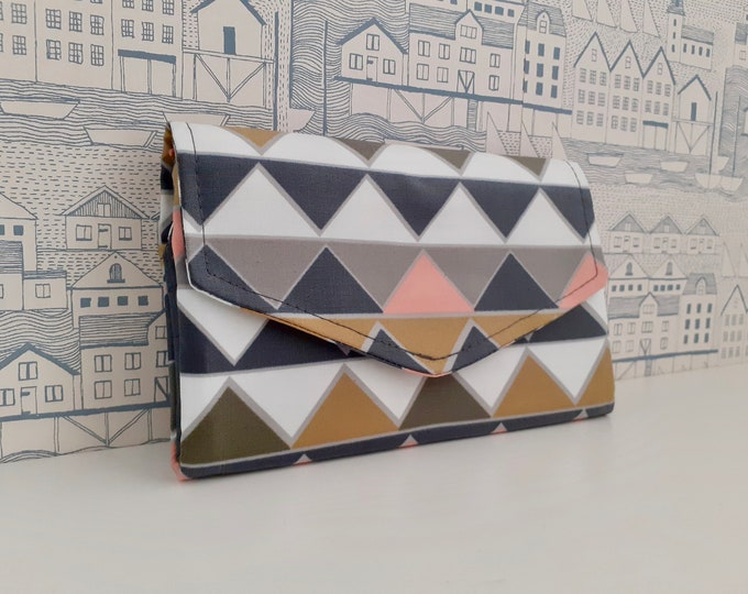 Prisms Flip Clutch Wallet