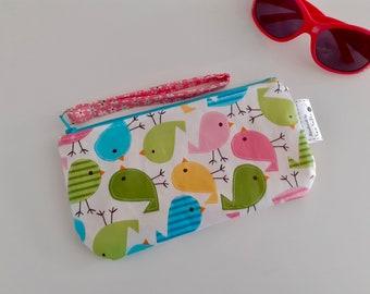 Little Chicks wipe clean wristlet pouch