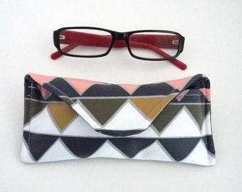 Prisms wipe clean glasses case