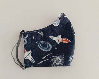 Space Shuttle fabric face mask