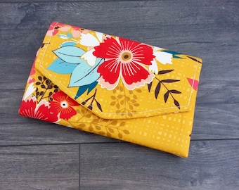 Sunkissed Flip Clutch Wallet - made to order