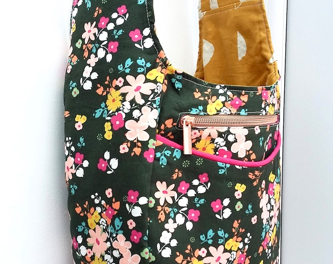 Featured listing image: Blooming Soul Luna reversible hobo bag