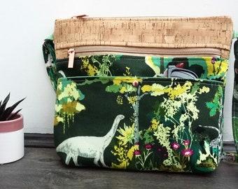 Esoterra Dinosaurs Cross Body Bag