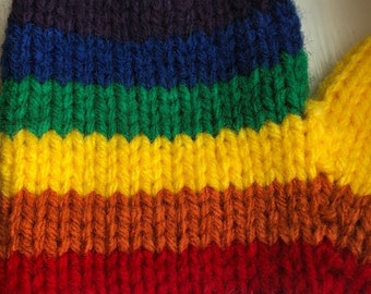 Custom rainbow mittens - Toddler to adult sizes 841e57e6240