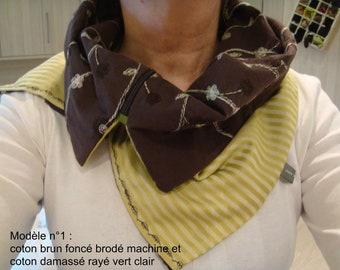 Asymmetrical collar