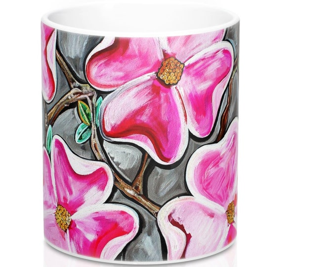Dogwoods In Bloom, Mug 11oz